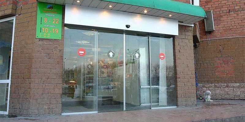 Автоматические раздвижные двери