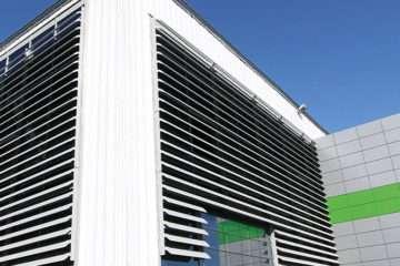 Система солнцезащитных ламелей ALT SP50