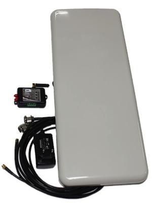 Управление автоматикой используя пассивную RFID-метку на удалениях до 10м